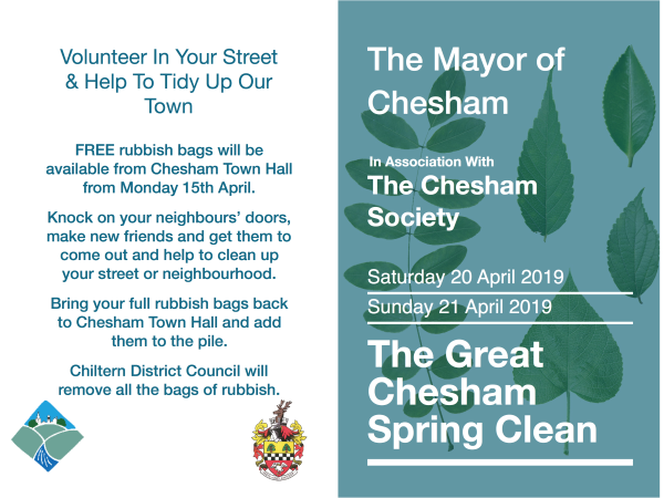 Great Chesham Spring Clean Poster