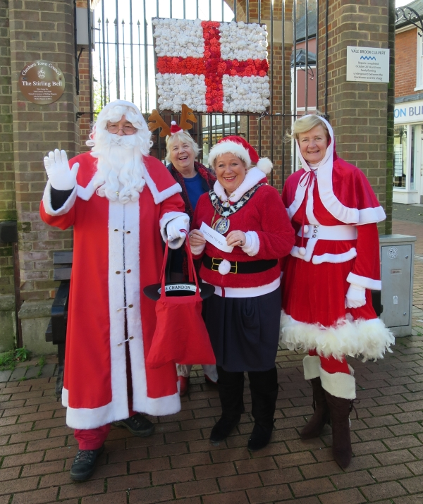 Father Christmas in Chesham