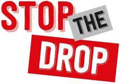 Stop the Drop Logo