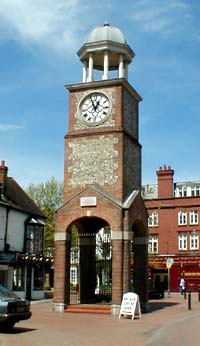 Clock Tower in Market Square