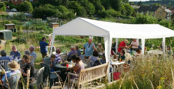 Allotments Social event