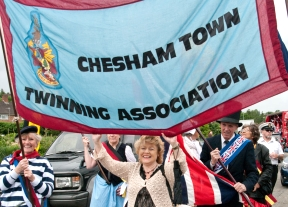 Town Twinning at the Schools of Chesham Carnival