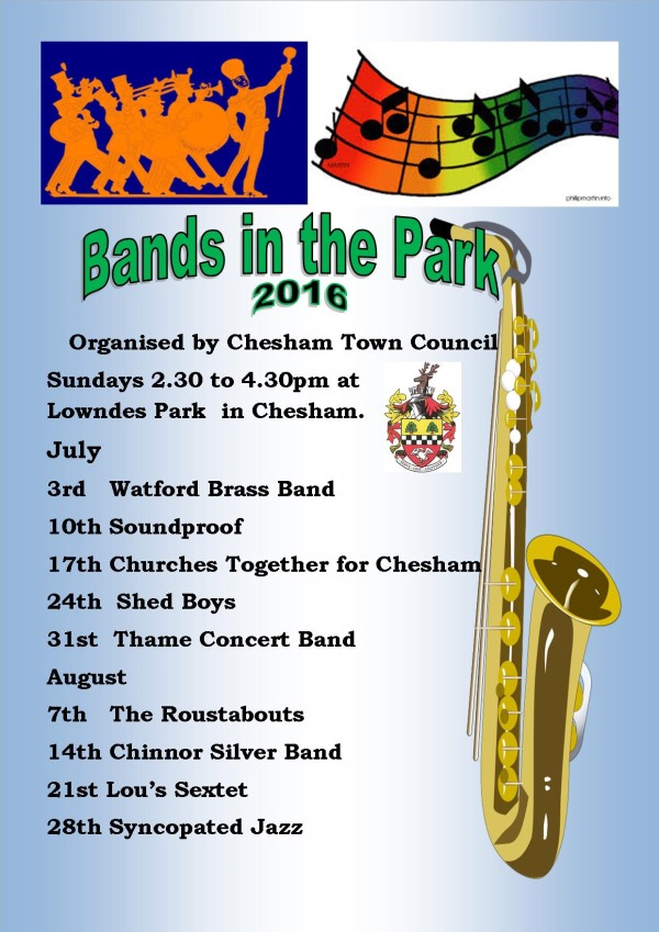 Bands in the Park 2016