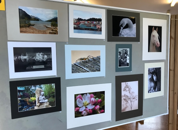 Chesham Photographic Club display