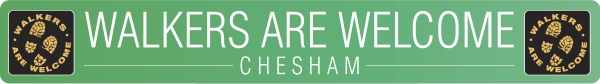 Chesham Walkers Are Welcome Logo
